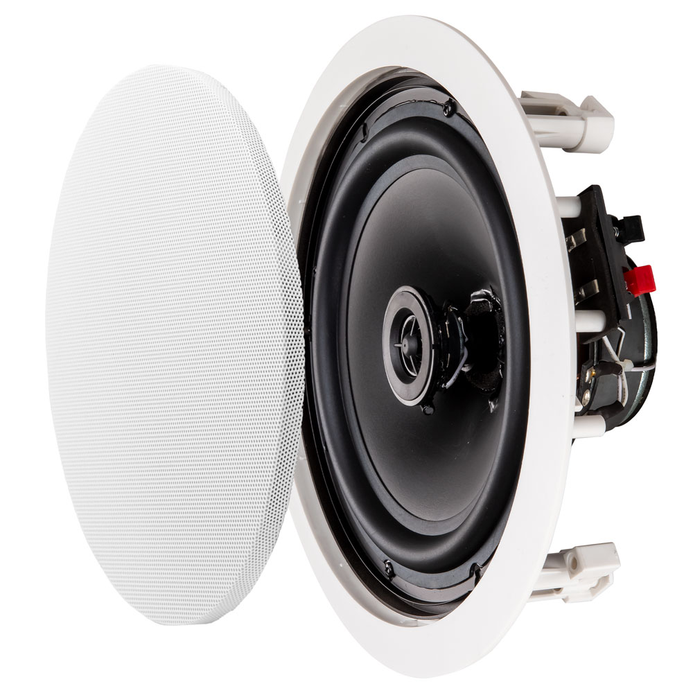 "8"" 2-Way Ceiling Speaker Contractor Series Pair - ICE800"