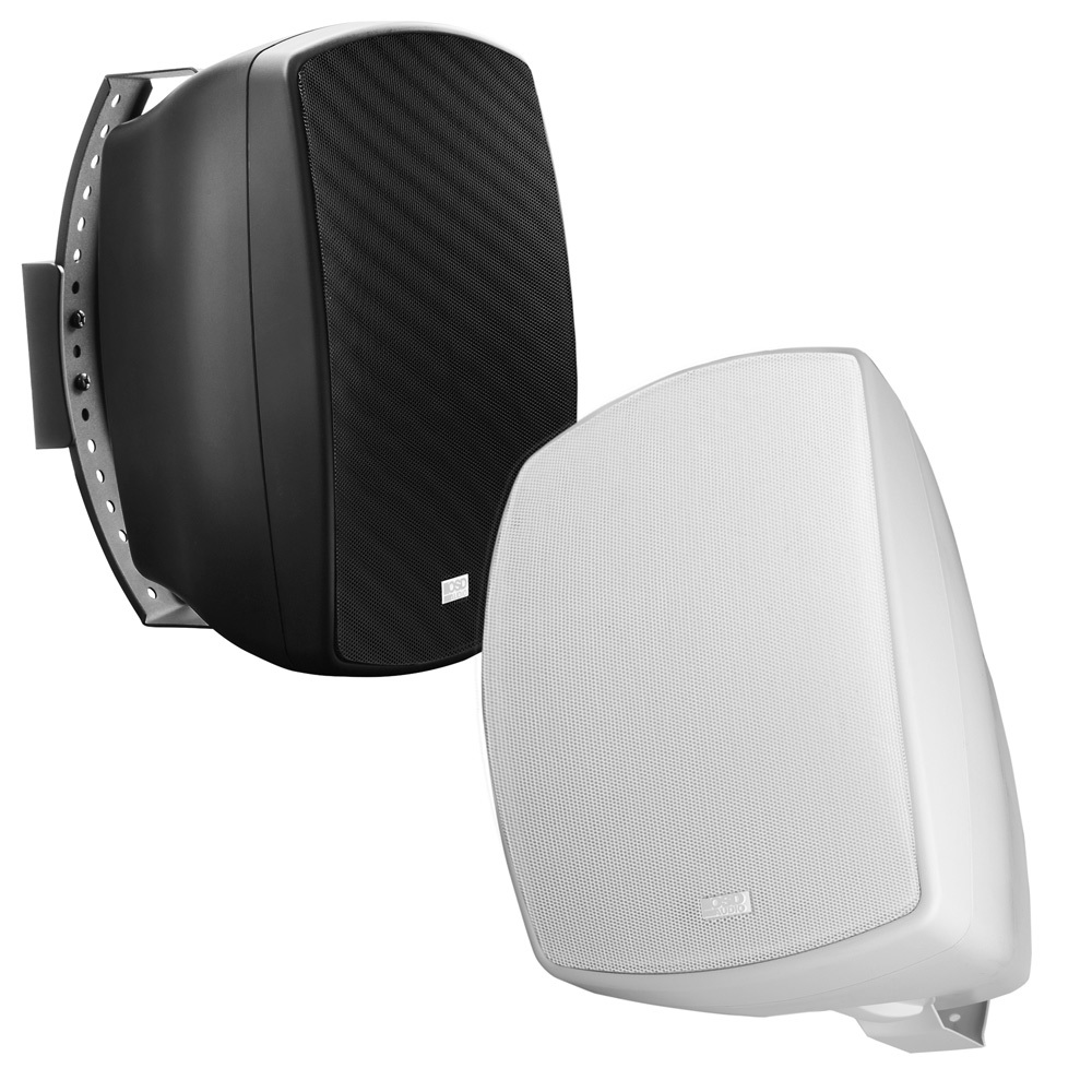 """6.5"""" High Performance Outdoor Patio 2-Way Speaker Pair w/ Optional 70V, White or Black -  AP650"""