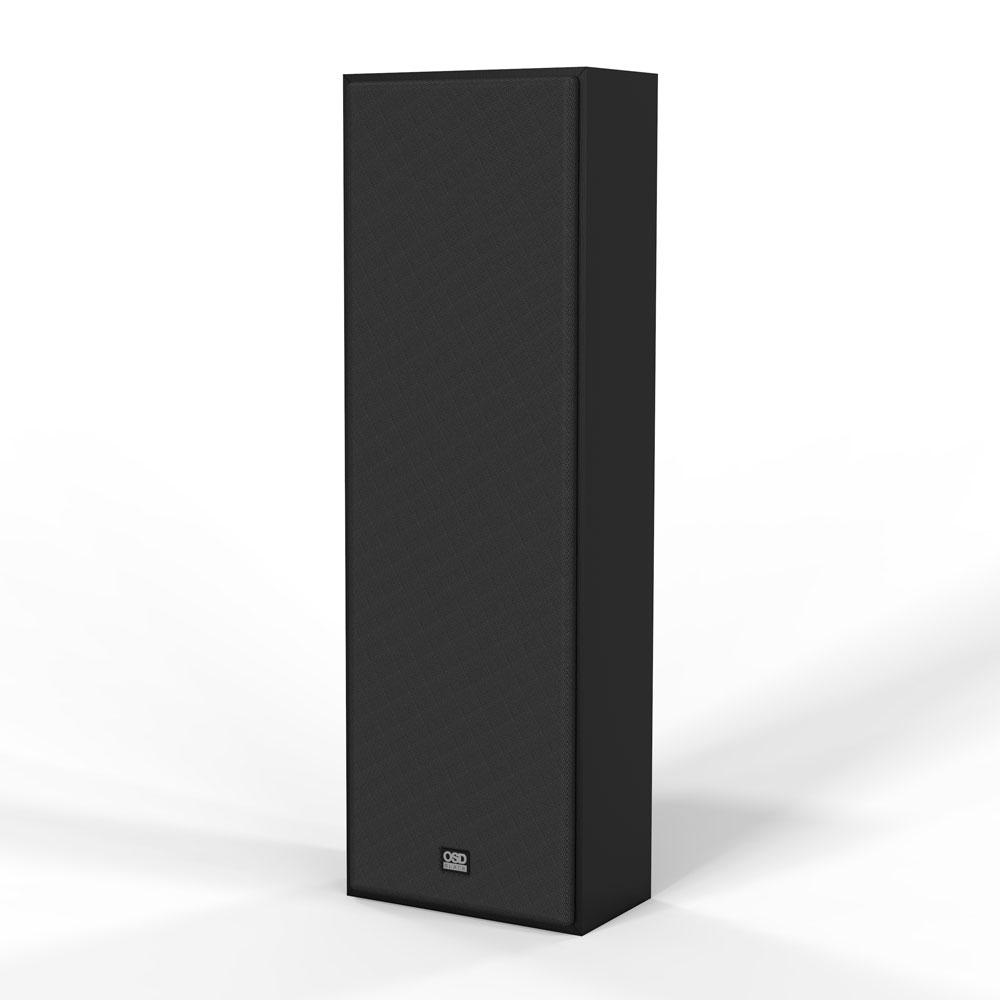 "S81-MK2 8"" Triple Tweeter On-wall Speaker w/ Custom Crossovers and 8"" Fiber Inter-weave Woofer"