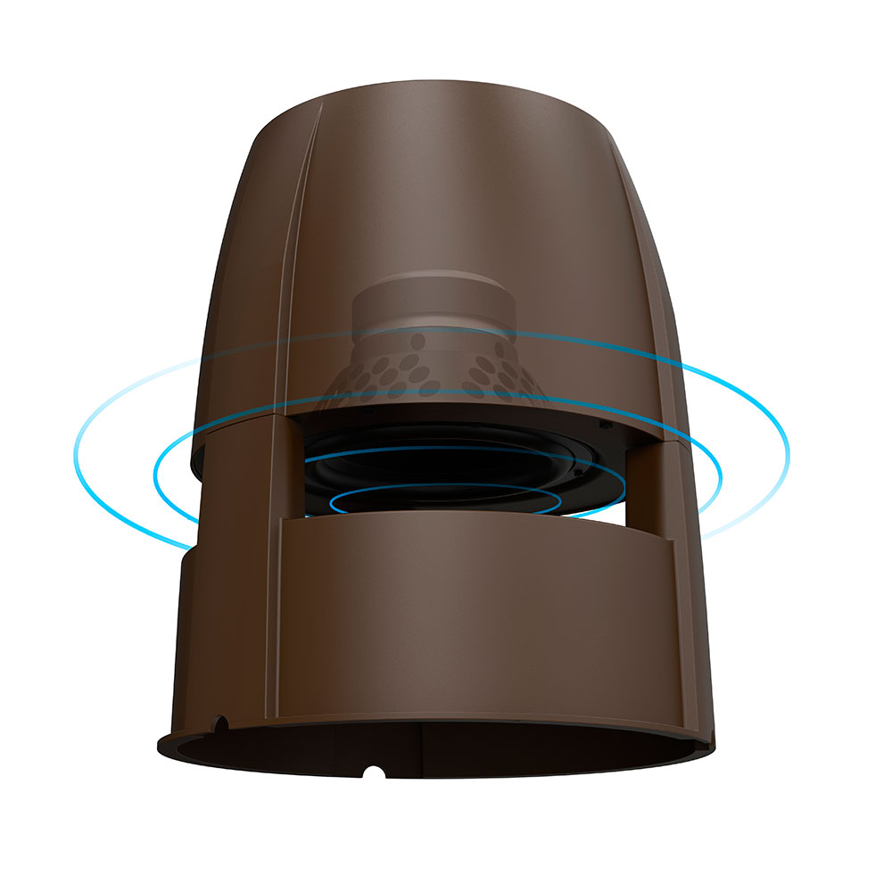 """OSD BOM4.1.2 Bluetooth 8"""" Outdoor Powered Subwoofer, Built in Amp 4x 60W Speaker Outputs"""