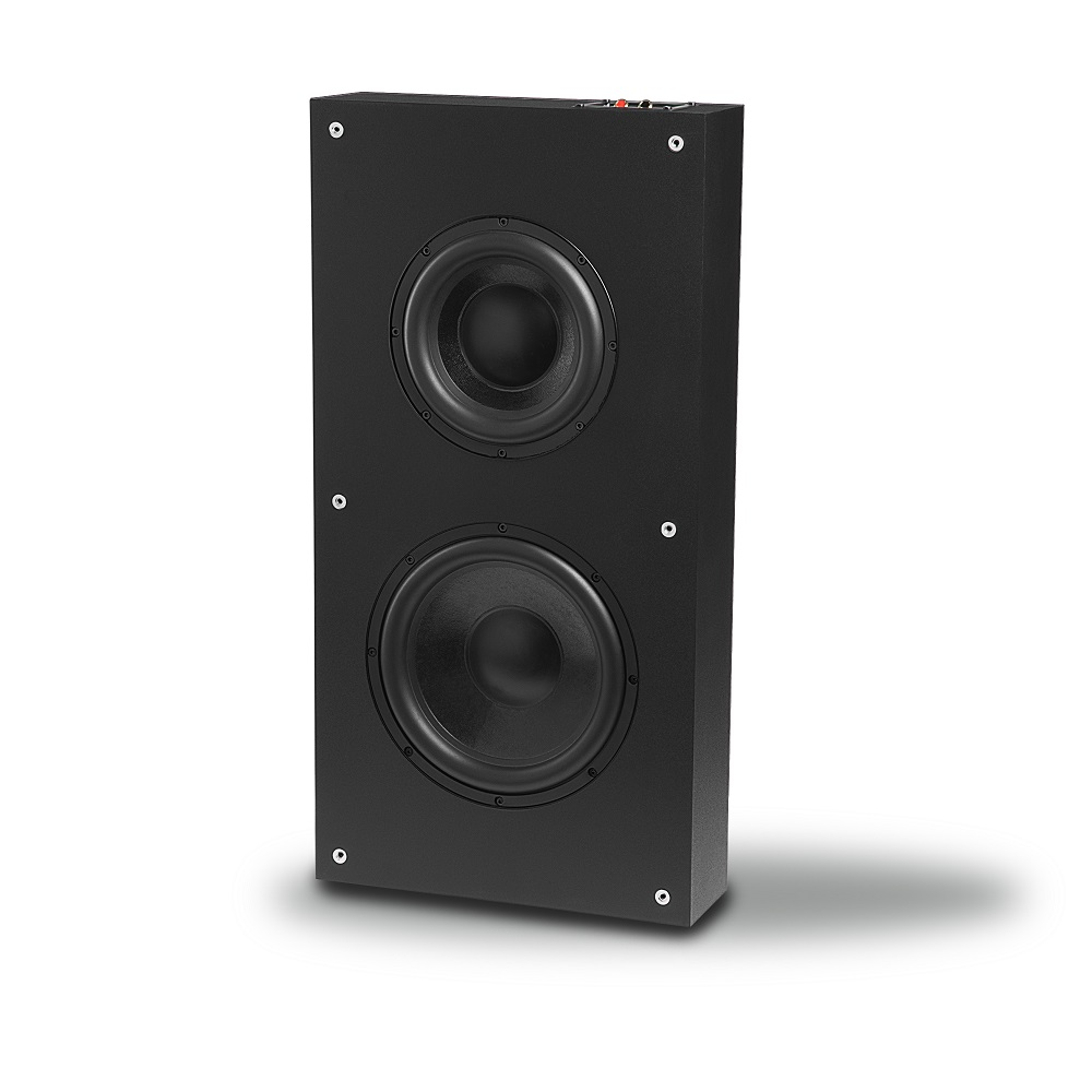 OSD SL800 Dual Woofer 300W Subwoofer Low Profile On Wall, Sealed